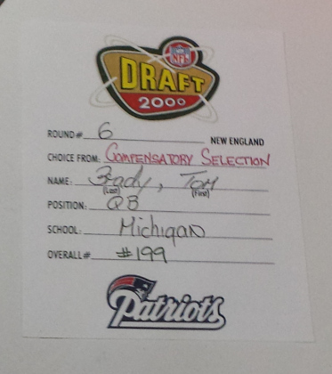 Brady Draft Card